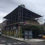 A Scaffolding Job Completed By The SSA Scaffolding Ltd Team